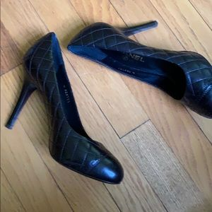 CHANEL Shoes - Chanel beautiful quilted pumps new in box